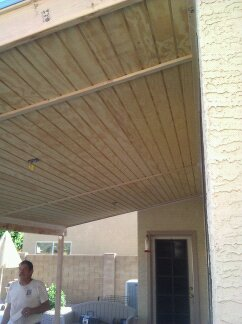 T1-11 used as soffit